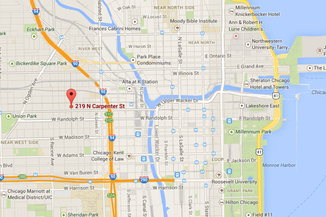 Chicago Dog Boarding And More Maps - Map of chicago dog parks